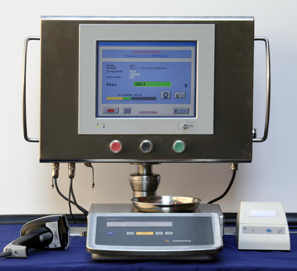 Sistema pesatura Ingredienti Spezie Aromi e preparazione ricette