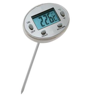Termometro ago/spillo stagno